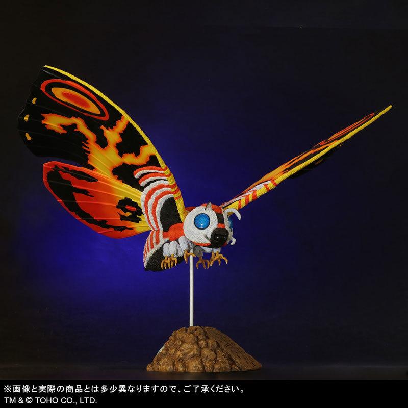 東宝大怪獣シリーズ 「ゴジラVSモスラ」 モスラ(1992) 完成品フィギュアFIGURE-123783_02