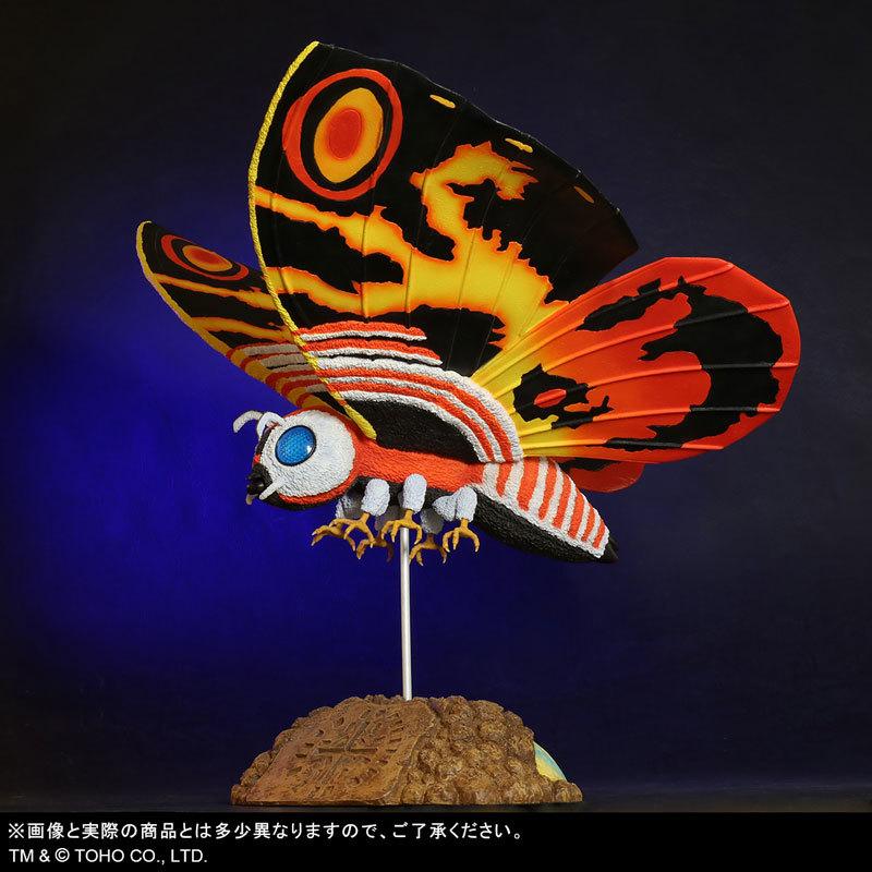 東宝大怪獣シリーズ 「ゴジラVSモスラ」 モスラ(1992) 完成品フィギュアFIGURE-123783_03