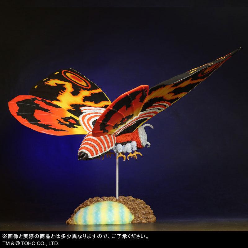 東宝大怪獣シリーズ 「ゴジラVSモスラ」 モスラ(1992) 完成品フィギュアFIGURE-123783_04