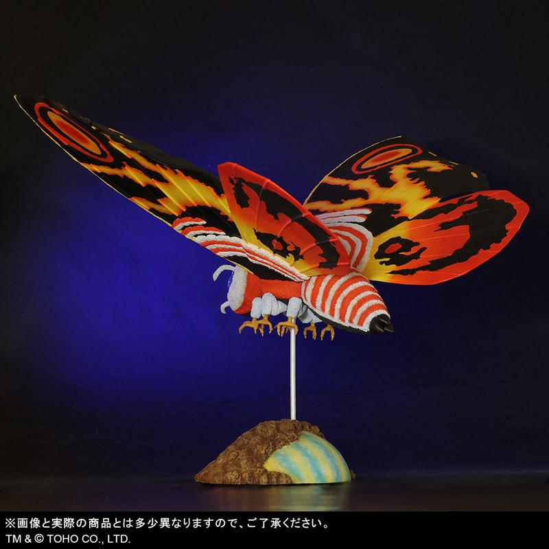 東宝大怪獣シリーズ 「ゴジラVSモスラ」 モスラ(1992) 完成品フィギュアFIGURE-123783_05