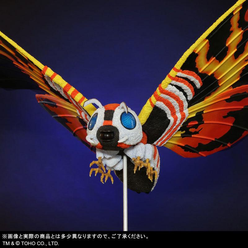 東宝大怪獣シリーズ 「ゴジラVSモスラ」 モスラ(1992) 完成品フィギュアFIGURE-123783_06