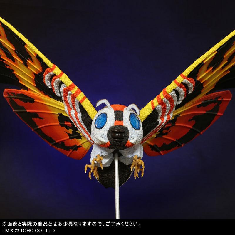 東宝大怪獣シリーズ 「ゴジラVSモスラ」 モスラ(1992) 完成品フィギュアFIGURE-123783_07