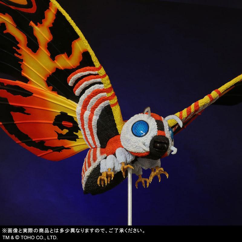 東宝大怪獣シリーズ 「ゴジラVSモスラ」 モスラ(1992) 完成品フィギュアFIGURE-123783_08