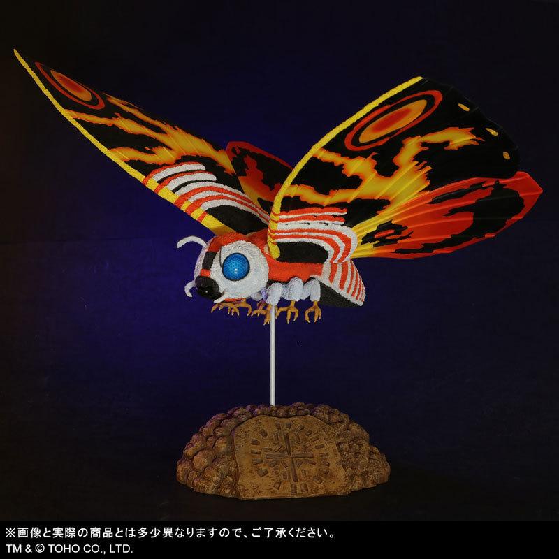 東宝大怪獣シリーズ 「ゴジラVSモスラ」 モスラ(1992) 完成品フィギュアFIGURE-123783_09