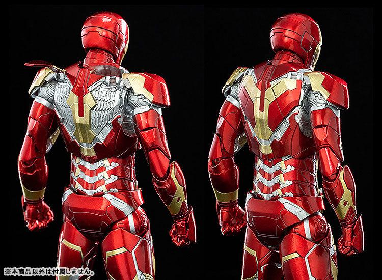 Infinity Saga 112 DLX Iron Man Mark 43 (インフィニティ・サーガ 112 DLX アイアンマン・マーク43) 可動フィギュアFIGURE-124958_02