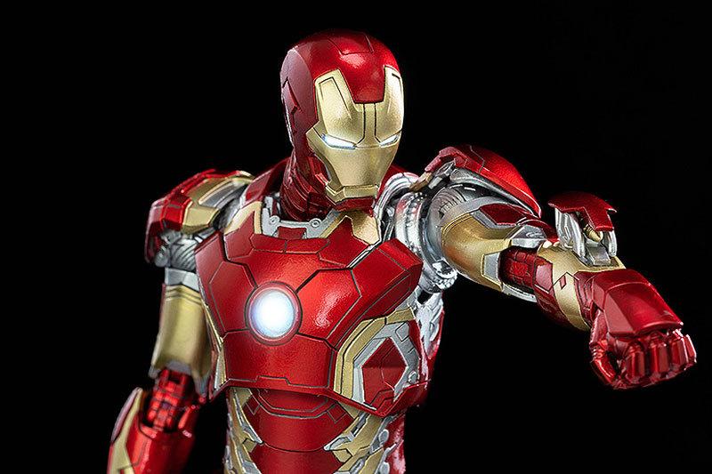 Infinity Saga 112 DLX Iron Man Mark 43 (インフィニティ・サーガ 112 DLX アイアンマン・マーク43) 可動フィギュアFIGURE-124958_05