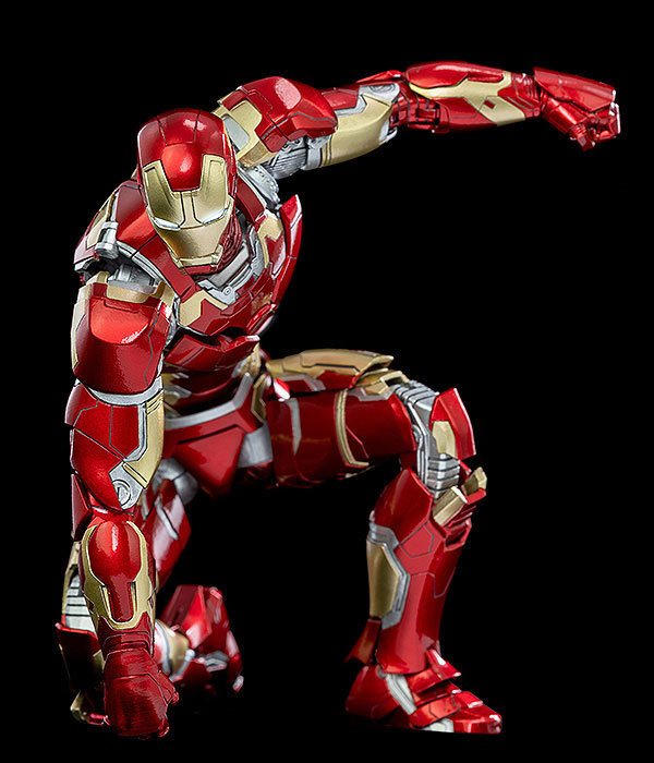 Infinity Saga 112 DLX Iron Man Mark 43 (インフィニティ・サーガ 112 DLX アイアンマン・マーク43) 可動フィギュアFIGURE-124958_06
