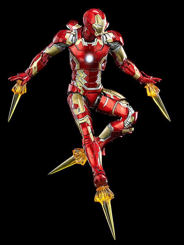 Infinity Saga 112 DLX Iron Man Mark 43 (インフィニティ・サーガ 112 DLX アイアンマン・マーク43) 可動フィギュアFIGURE-124958_07