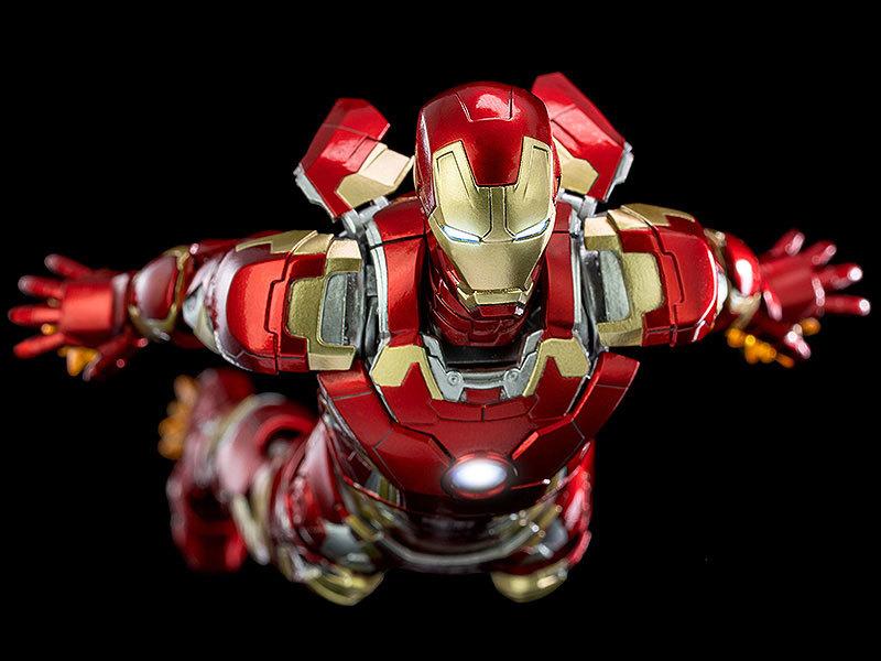 Infinity Saga 112 DLX Iron Man Mark 43 (インフィニティ・サーガ 112 DLX アイアンマン・マーク43) 可動フィギュアFIGURE-124958_09