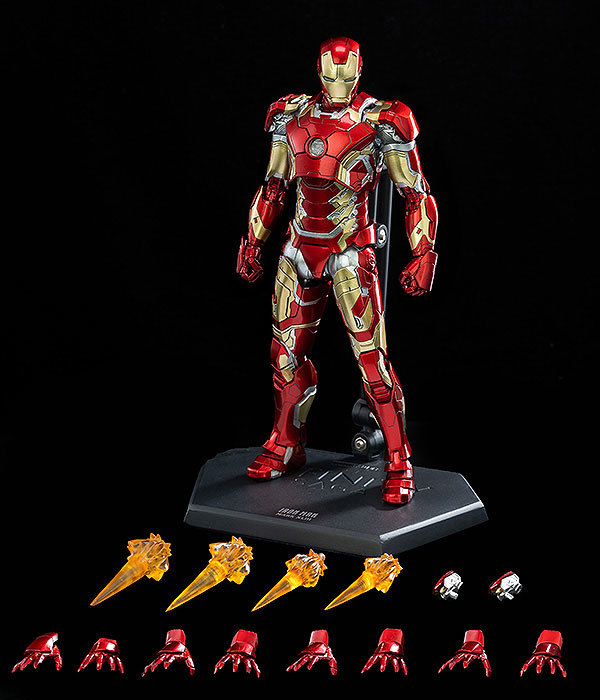 Infinity Saga 112 DLX Iron Man Mark 43 (インフィニティ・サーガ 112 DLX アイアンマン・マーク43) 可動フィギュアFIGURE-124958_10