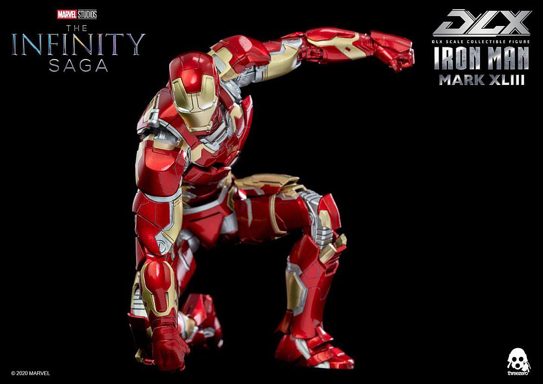 Infinity Saga 112 DLX Iron Man Mark 43 (インフィニティ・サーガ 112 DLX アイアンマン・マーク43) 可動フィギュアFIGURE-124958_11