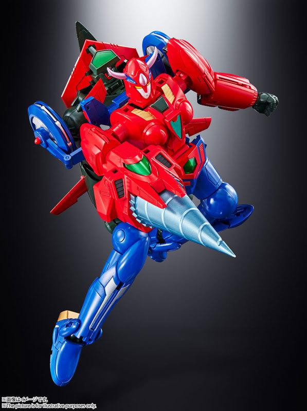 超合金魂 GX-96 ゲッターロボ號FIGURE-125708_05