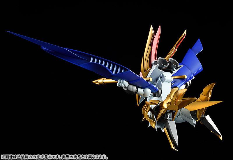 PLAMAX MS-13 真魔神英雄伝ワタル 鋼衣空王丸 プラモデルTOY-RBT-5982_05