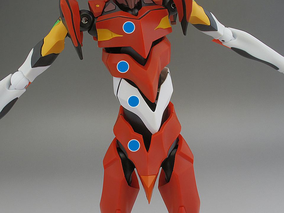 ROBOT魂 エヴァ2号機 S型13