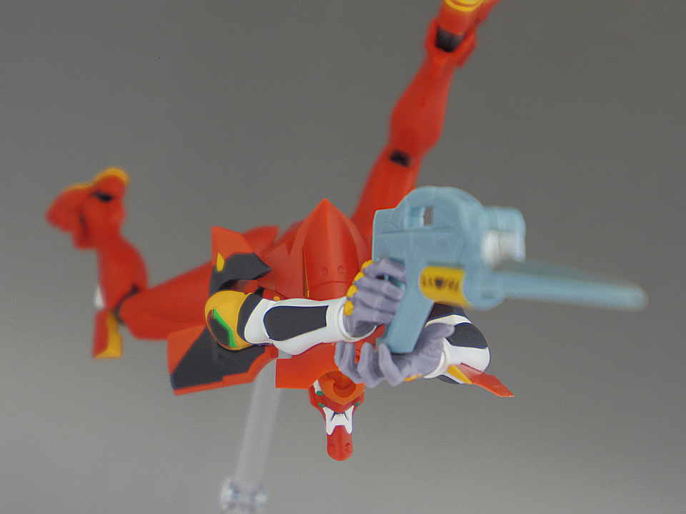 ROBOT魂 エヴァ2号機 S型76