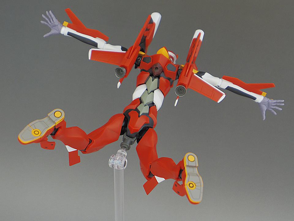 ROBOT魂 エヴァ2号機 S型80