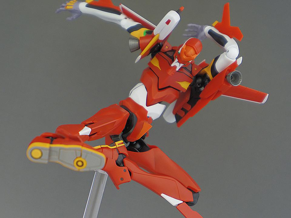 ROBOT魂 エヴァ2号機 S型90