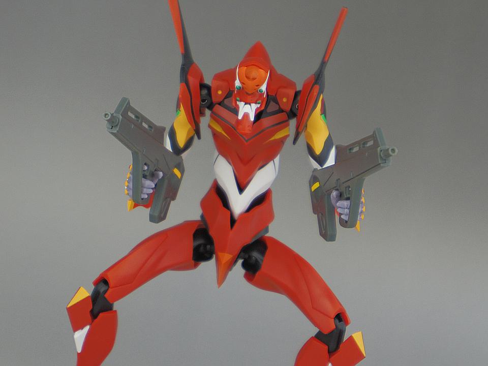ROBOT魂 エヴァ2号機 S型92