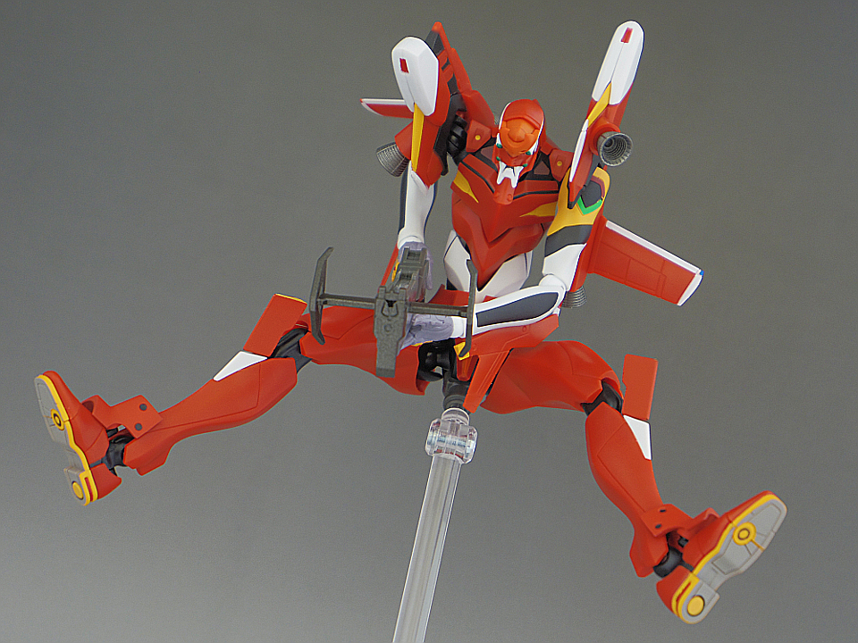 ROBOT魂 エヴァ2号機 S型86