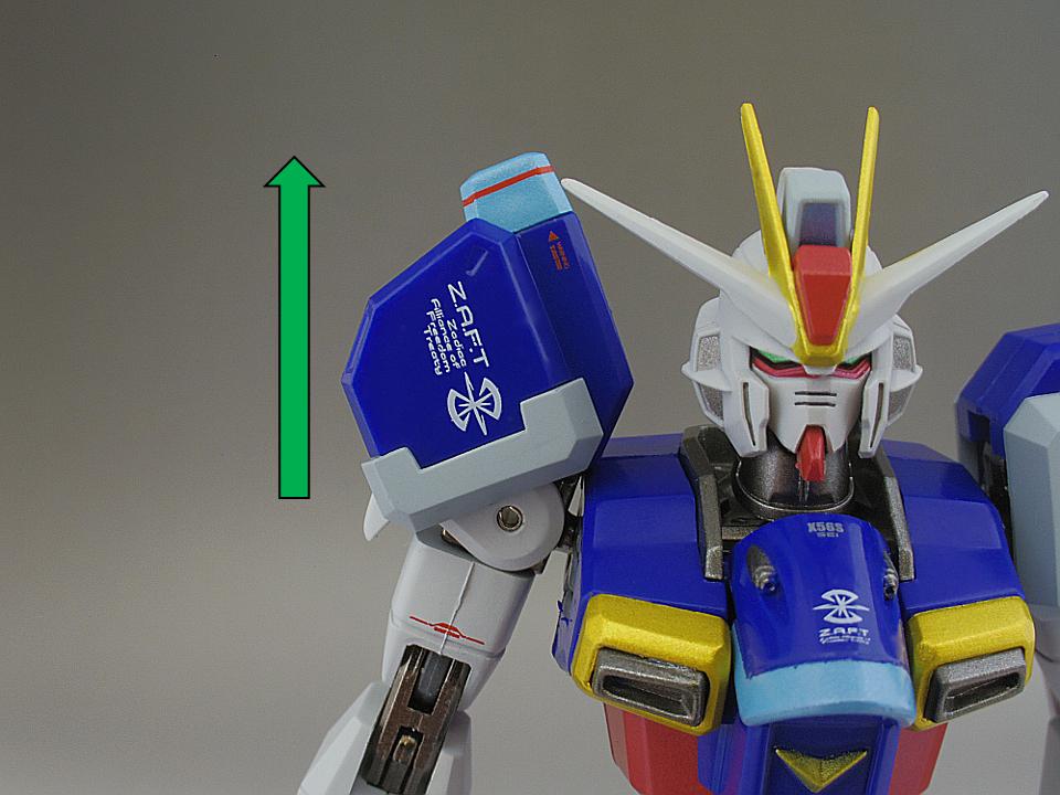 METAL ROBOT魂 インパルスガンダム135