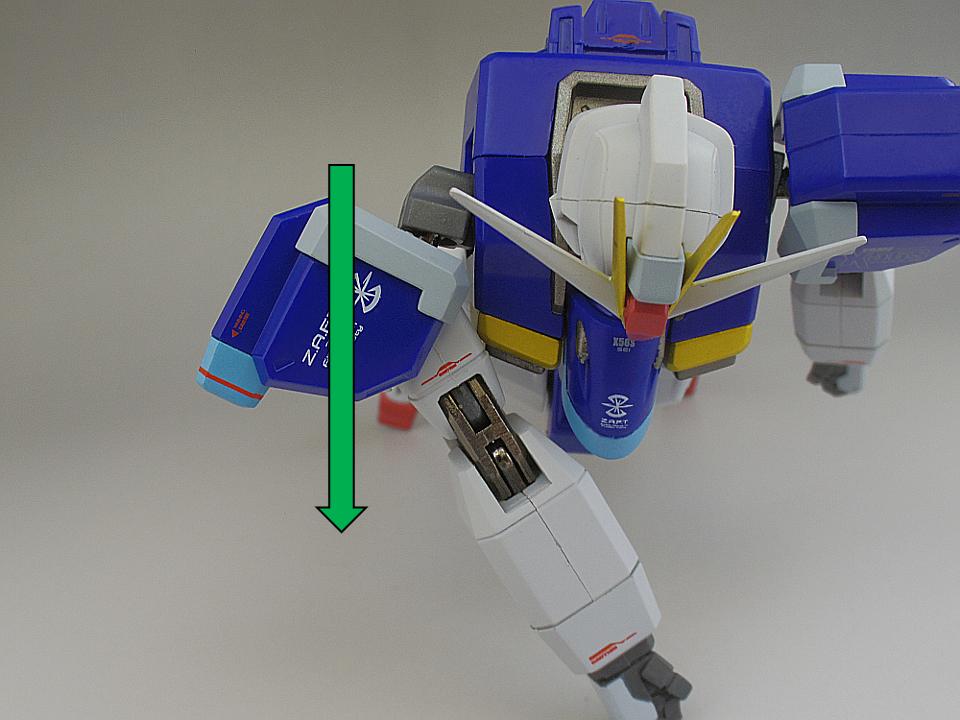 METAL ROBOT魂 インパルスガンダム136