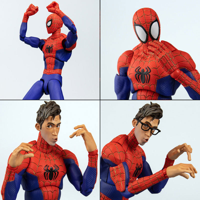 スパイダーマン:スパイダーバース SVアクション ピーター・B・ パーカースパイダーマン アクションフィギュアFIGURE-128356_06