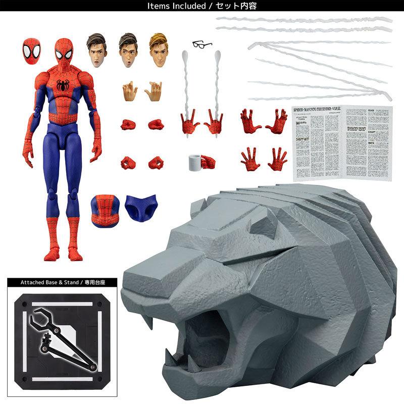 スパイダーマン:スパイダーバース SVアクション ピーター・B・ パーカースパイダーマン アクションフィギュアFIGURE-128356_16
