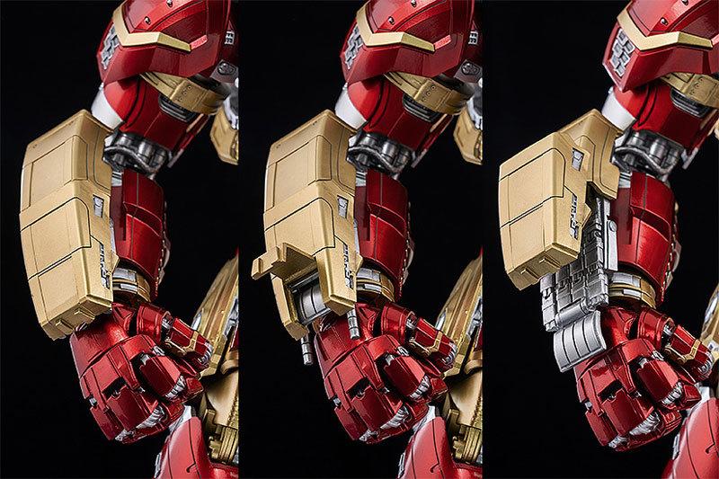 """インフィニティ・サーガ 112 DLX アイアンマン・マーク44""""ハルクバスター"""" 可動フィギュアFIGURE-128114_07"""