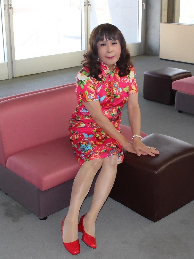 赤チャイナ服F体育館(4)