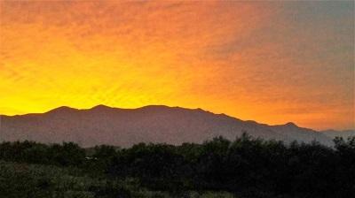 奥越山地の夜明け2017年9月