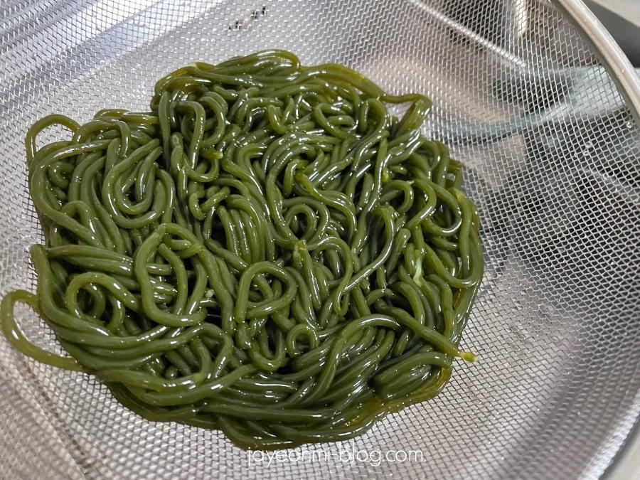 海藻麺_わかめ麺_ひじき麺_昆布麺_韓国_ダイエット_4