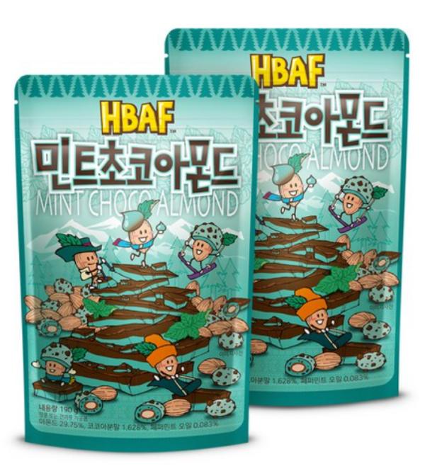 韓国お菓子_ミントチョコ_チョコミント_5