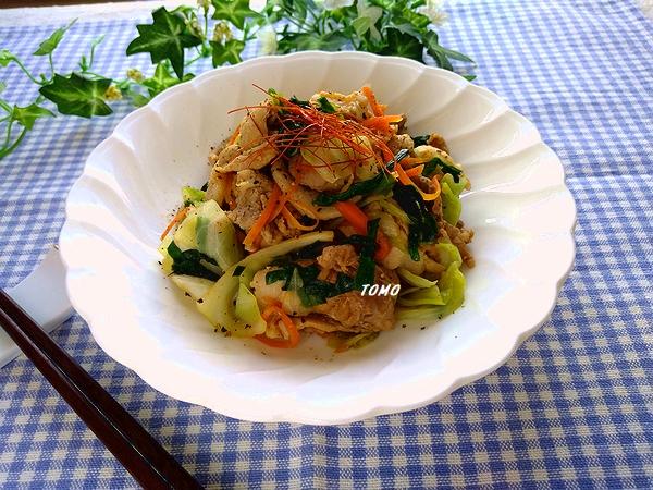 群馬県産ニラと豚肉のピリ辛スタミナ炒め