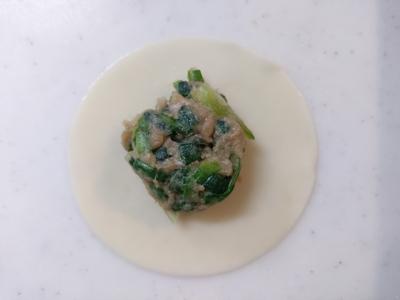 群馬県産ニラのニラ饅頭1