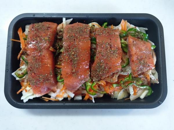 にんべん 鮭のチャンチャン焼