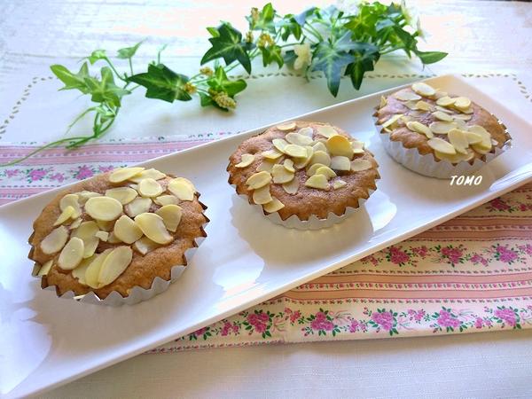 小豆のミニケーキ1