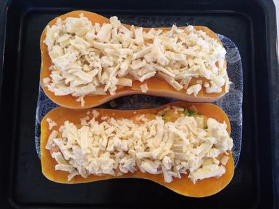 おからパウダーとカルボナーラでバターナッツかぼちゃのグラタン6