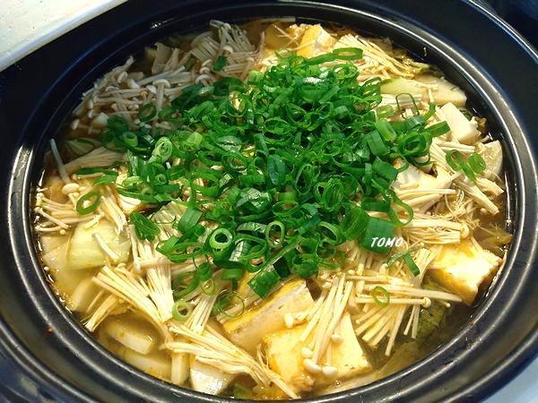 厚揚げ入りキムチ鍋