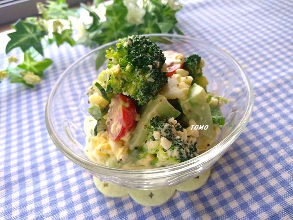 群馬県産ブロッコリーの卵サラダ