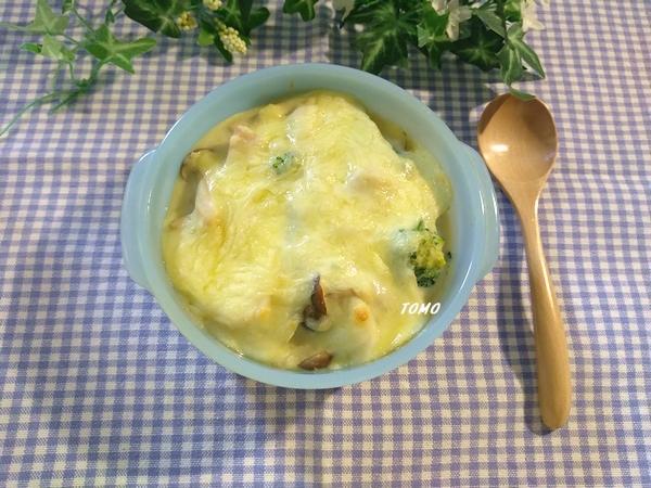 群馬県産ブロッコリーと群馬県産ヤマトイモの豆乳米粉グラタン