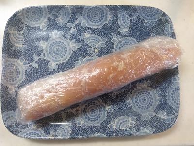 鶏肉の塩こうじ人参とゴボウ巻き2