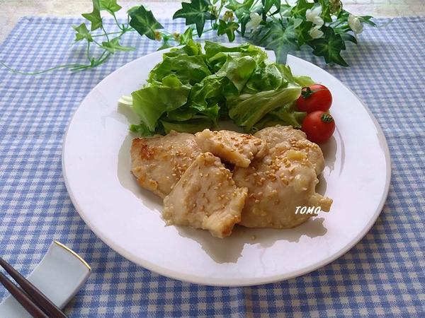 鶏むね肉の塩こうじスタミナ炒め