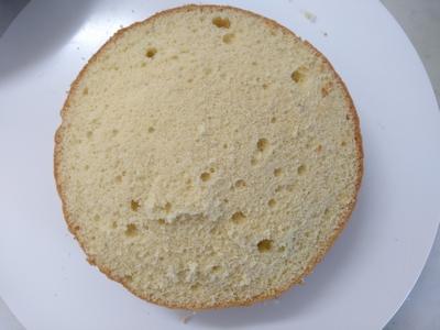 ミモザケーキ2