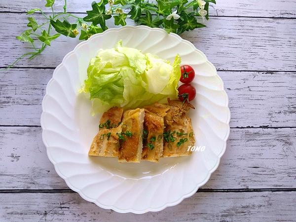 鶏むね肉の味噌ニンニク生姜焼き