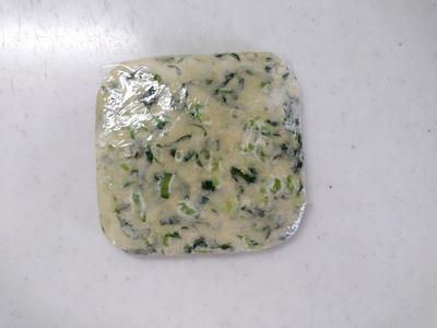 小松菜のチーズクラッカー6
