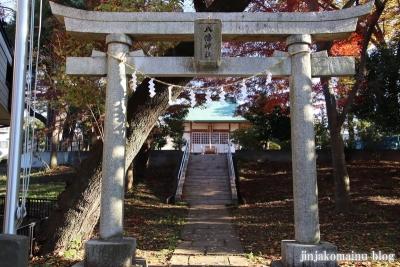 野塩八幡神社  清瀬市野塩3