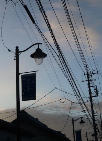 益子町 街灯