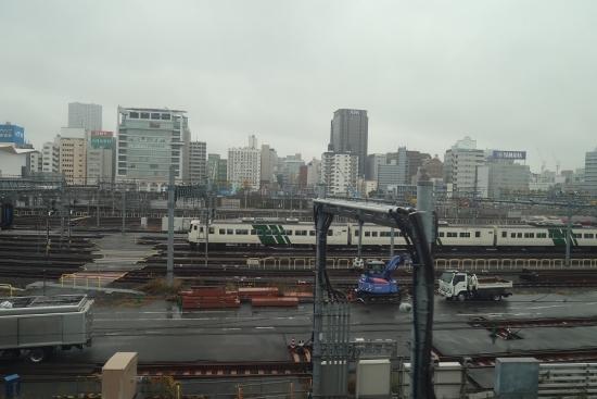 東海道新幹線の車窓から 踊り子、サンライズエクスプレス