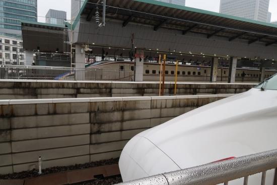 東京駅 東海道新幹線N700Aと北陸新幹線