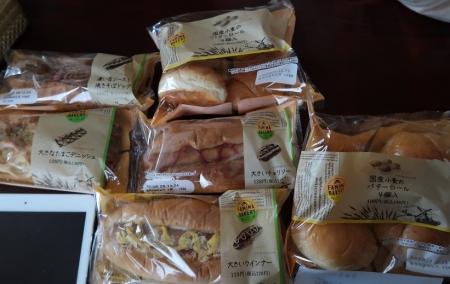 買っておいたパン